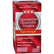 H-E-B Glucosamine Chondroitin Complex Advanced Coated Tablets
