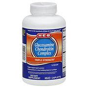 H-E-B Glucosamine Chondroitin Complex Triple Strength Caplets