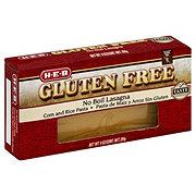H-E-B Gluten Free No Boil Lasagna