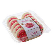 H-E-B Go Texan Pink Frosted Sugar Cookies