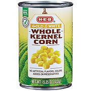 H-E-B Gold and White Whole Kernel Corn