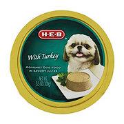H-E-B Gourmet Turkey Dog Food