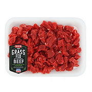 H-E-B Grass Fed Beef Lean Stew Meat