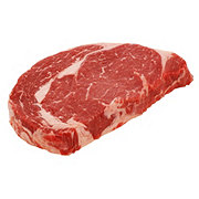 H-E-B Grassfed Beef Ribeye Steak Boneless Thick
