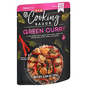 H-E-B Green Curry Spicy Cooking Sauce