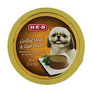 H-E-B Grilled Steak & Egg Flavor in Savory Juices Wet Dog Food