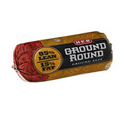 H-E-B Ground Beef Round 85% Lean
