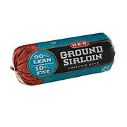 H-E-B Ground Beef Sirloin 90% Lean