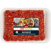 H-E-B Ground Hot Italian Sausage