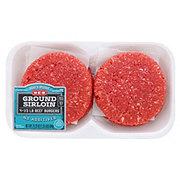 H-E-B Ground Sirloin 1/3 lb Beef Patties