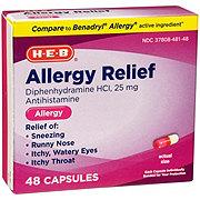 H-E-B H-E-B Antihistamine Allergy Relief Capsules