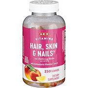H-E-B Hair Skin And Nails Adult Gummies