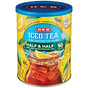 H-E-B Half & Half Iced Tea Mix