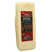 H-E-B Havarti Natural Cheese with Jalapeno Peppers