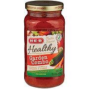 H-E-B Healthy Garden Combo Pasta Sauce