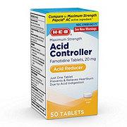 H-E-B Heartburn Prevention Maximum Strength Acid Reducer 20 mg Tablets