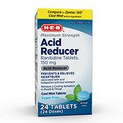 H-E-B Heartburn Relief Maximum Strength Cool Mint 150 mg Tablets