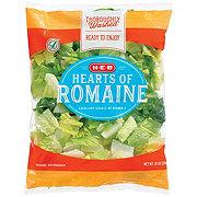 H-E-B Hearts of Romaine Lettuce