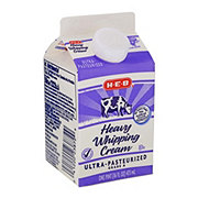 H-E-B Heavy Whipping Cream