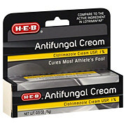 H-E-B HEB Clotrimazole 1% Athlete Foot Cream