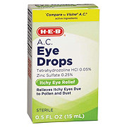 H-E-B HEB Eye Drops A C Seasonal Relief