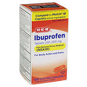 H-E-B HEB Orange Ibuprofen