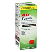 H-E-B HEB Tussin DM Cough And Chest Congestion