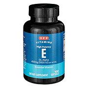 H-E-B HEB Vitamin E 1000 IU Soft Gels