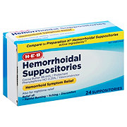 H-E-B Hemorrhoidal Suppositories