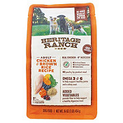 H-E-B Heritage Ranch Chicken & Brown Rice Dry Dog Food