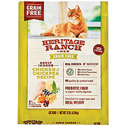 H-E-B Heritage Ranch Chicken & Chick Pea Grain Free Dry Cat Food