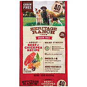 H-E-B Heritage Ranch Grain Free Beef & Chickpea Recipe Dry Dog Food