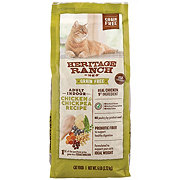 H-E-B Heritage Ranch Grain Free Chicken & Chick Pea Dry Indoor Cat Food