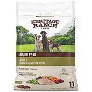 H-E-B Heritage Ranch Grain Free Chicken & Chickpea Recipe Dry Dog Food