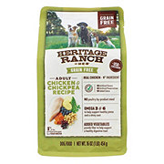 H-E-B Heritage Ranch Grain Free Chicken & Chickpea Dry Dog Food
