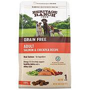 H-E-B Heritage Ranch Grain Free Salmon & Chickpea Recipe Dog Food