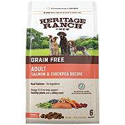 H-E-B Heritage Ranch Grain Free Salmon & Chickpea Recipe Dry Dog Food