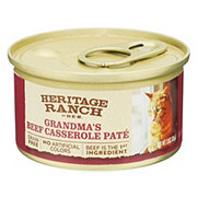 H-E-B Heritage Ranch Grandmas Beef Casserole Cat Food