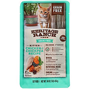 H-E-B Heritage Ranch Kitten Formula Grain Free Dry Cat Food