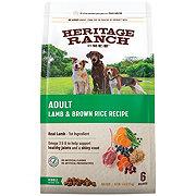 H-E-B Heritage Ranch Lamb & Brown Rice Recipe Dry Dog Food