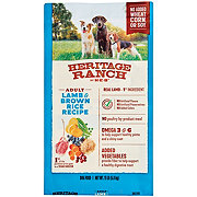 H-E-B Heritage Ranch Lamb & Brown Rice Recipe Dry Dog Food