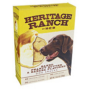 H-E-B Heritage Ranch Peanut Butter Banana Dog Treats