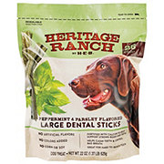 H-E-B Heritage Ranch Peppermint Parsley Dental Sticks