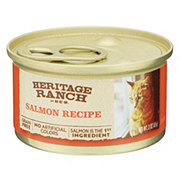 H-E-B Heritage Ranch Salmon Recipe Cat Food
