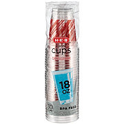 H-E-B Holiday 18 oz Plastic Cups