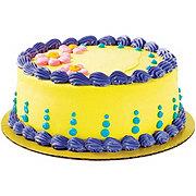 H-E-B Homemade Vanilla Ice Cream Cake with White Cake & Elite Icing