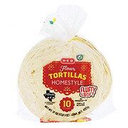 H-E-B Homestyle Flour Tortillas