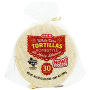 H-E-B Homestyle White Corn Tortillas