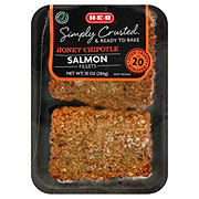 H-E-B Honey Chipotle Encrusted Salmon Fillets