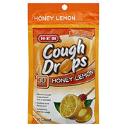 H-E-B Honey Lemon Cough Drops
